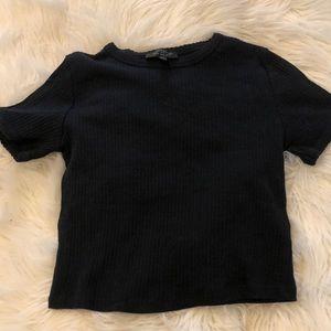 Women's black topshop shirt